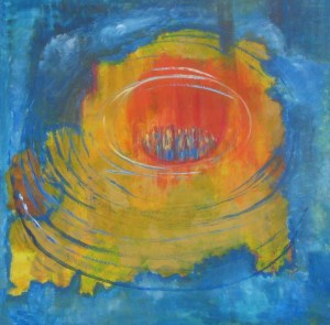 Christine Rohrbach - Sicher - Malerei